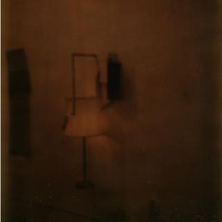 Polaroid studio photograph