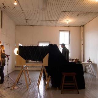 Snapshot in Fisgard St. Studio